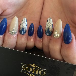 Nail_Salon_Soho_manicure_pedicure_kitsilano_vancouver_Blue Extension