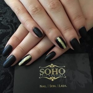 Nail_Salon_Soho_manicure_pedicure_kitsilano_vancouver_Matte_Gold