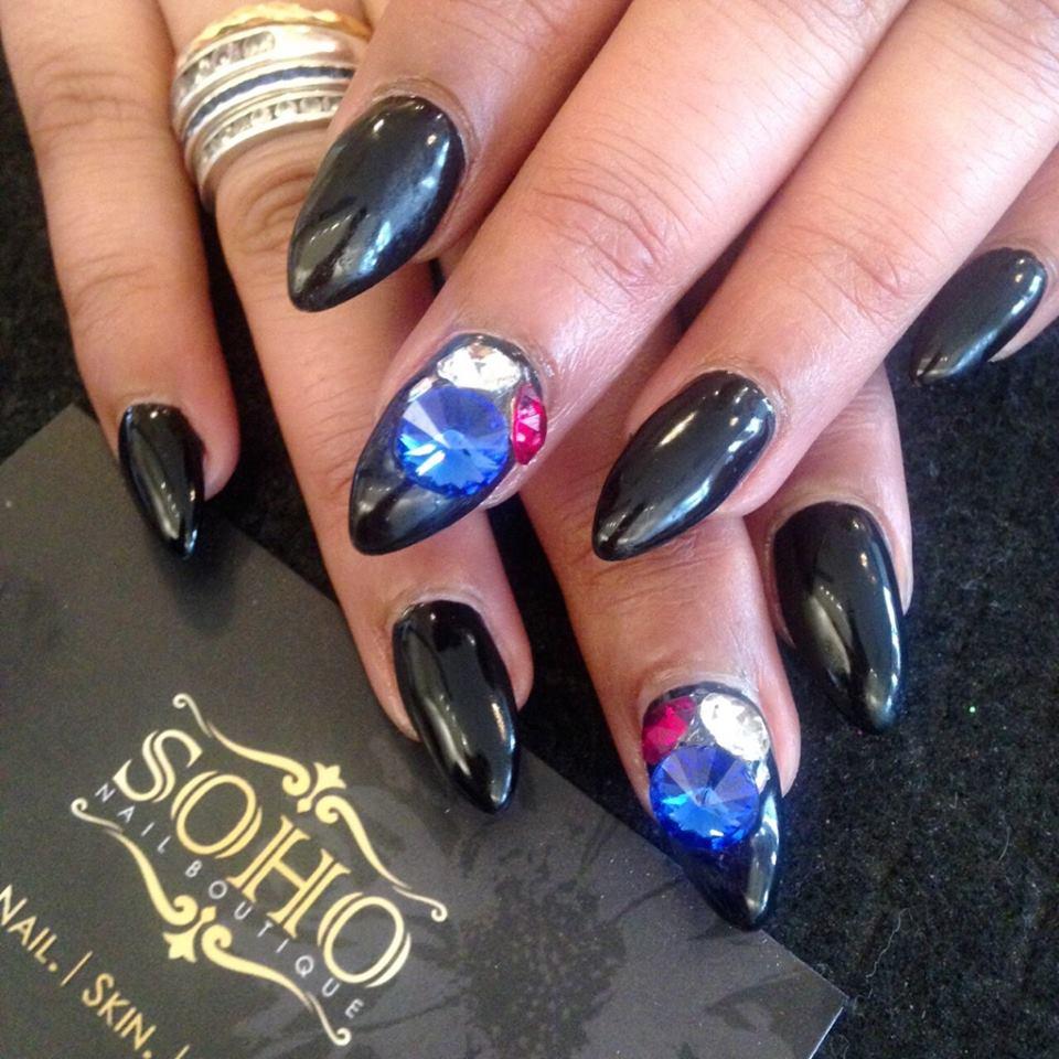Nail_Salon_Soho_manicure_pedicure_kitsilano_vancouver_black_blue_gem