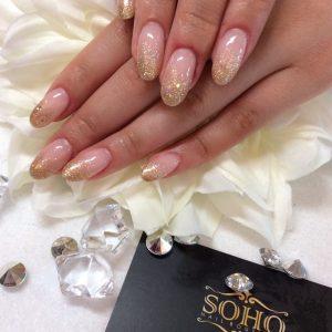 Nail_Salon_Soho_manicure_pedicure_kitsilano_vancouver_gold_glitter