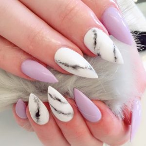 Nail_Salon_Soho_manicure_pedicure_kitsilano_vancouver_marble pink claws
