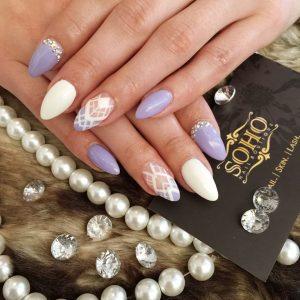 Nail_Salon_Soho_manicure_pedicure_kitsilano_vancouver_purple_lace