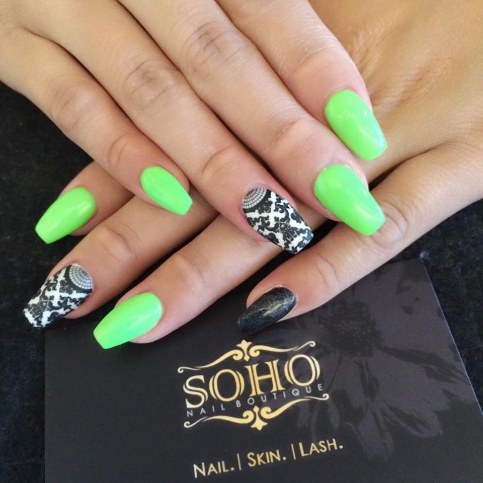 Soho_manicure_pedicure_kitsilano_vancouver_Florescent_Green