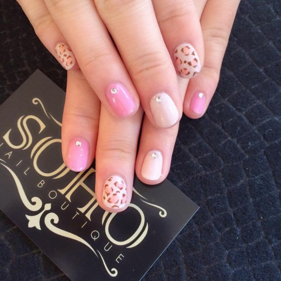 soho nail salon vancouver leopard printsoho beauty