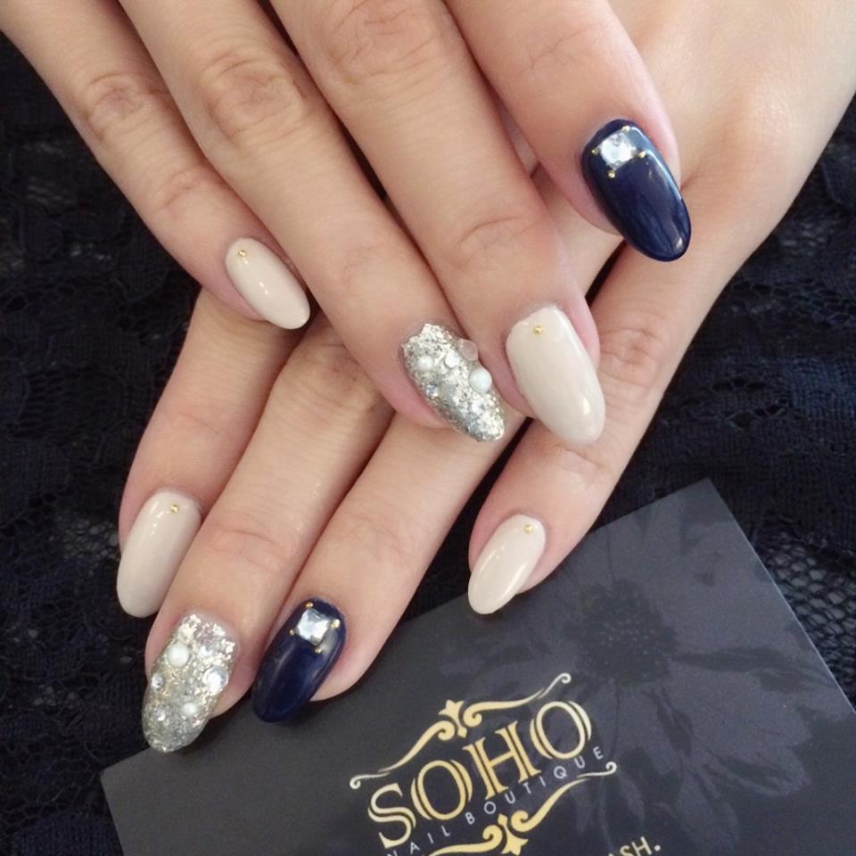 Soho_nails_manicure_pedicure_kitsilano_vancouver_blue_silver