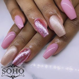 Nail_Salon_Soho_manicure_pedicure_kitsilano_vancouver_Shades of Pink