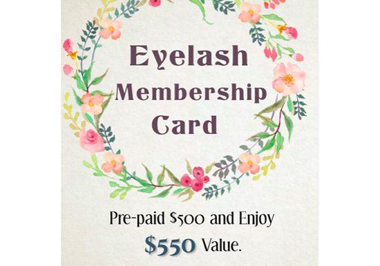 Eye Lash Membership