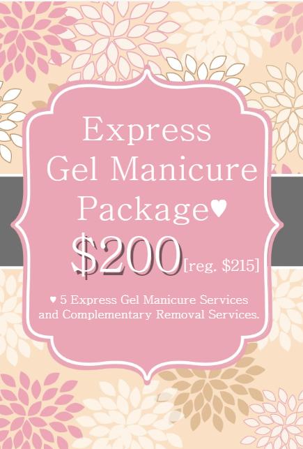 manicure deal promotion vancouver