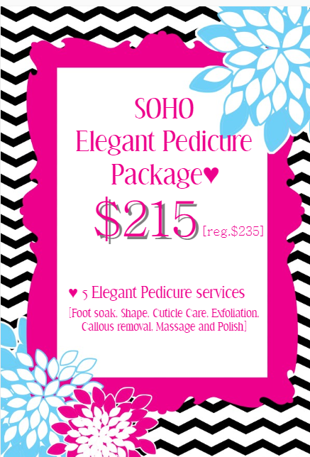 Pedicure deal promotion vancouver